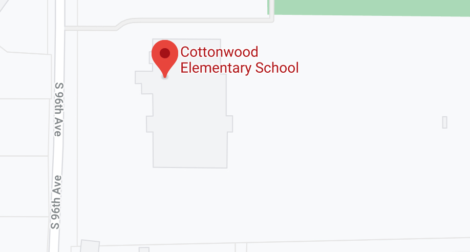 Cottonwood map